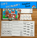"""Core Vocabulary Adapted Book:  """"Ginger Needs Help"""""""
