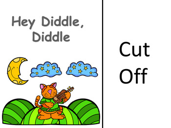 Nursery Rhyme Adaptive/Interactive Book: Hey Diddle, Diddle
