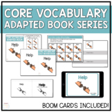 Core Vocabulary Adapted Book - Help