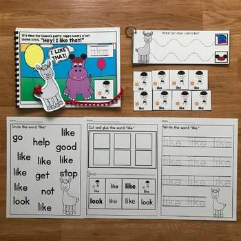 "Core Vocabulary Adapted Book:  ""Hey! I Like That!"""