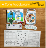 """Core Vocabulary Adapted Book:  """"In The Jar"""""""