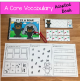 """Core Vocabulary Adapted Book:  """"It Is a Bear!"""""""