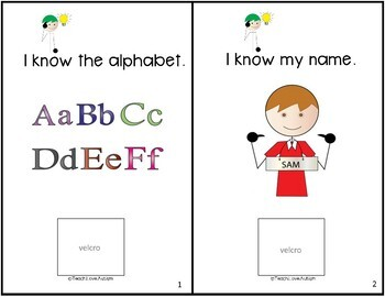 Core Vocabulary Adapted Book: KNOW