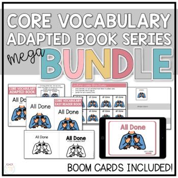 Core Vocabulary Adapted Book - Mega Bundle