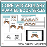 Core Vocabulary Adapted Book - More