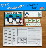 """Core Vocabulary Adapted Book: """"Penguin Says Yes"""""""