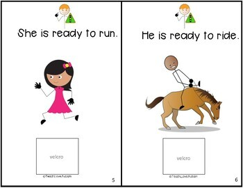 Core Vocabulary Adapted Book: READY
