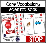 Core Vocabulary Adapted Book: STOP