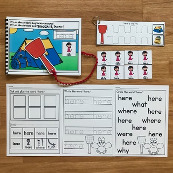 """Core Vocabulary Adapted Book:  """"Smack It, Here!"""""""