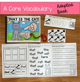 "Core Vocabulary Adapted Book:  ""That Is The Cat!"""