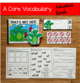"""Core Vocabulary Adapted Book:  """"That's Not Hot!"""""""