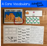 "Core Vocabulary Adapted Book:  ""Turn Fishy Turn"""