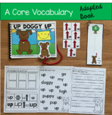 """Core Vocabulary Adapted Book:  """"Up Doggy Up!"""""""