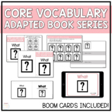 Core Vocabulary Adapted Book - What