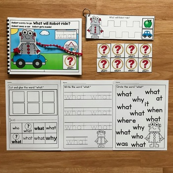 """Core Vocabulary Adapted Book:  """"What Will Robot Ride?"""""""