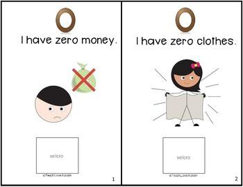 Core Vocabulary Adapted Book: Zero