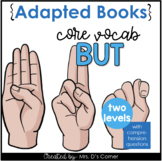 """Core Vocabulary """"BUT"""" Adapted Books [Level 1 and 2] Digita"""