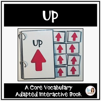 "Core Vocabulary Book ""UP"" for AAC Users and Speech Therapy"