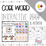 Core Word DIFFERENT by Color Interactive Book