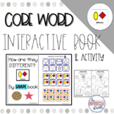 Core Word DIFFERENT by Shape Interactive book