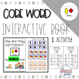 Core Word DIFFERENT by Number Interactive Book