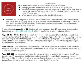 Core Vocabulary: EVERYTHING Mega pack 2