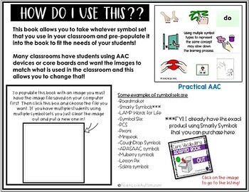 Core Vocabulary Editable Symbol Adapted Book: OUT