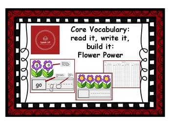 Core Vocabulary: Flower Power