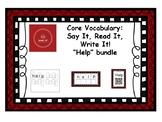 Core Vocabulary: HELP - Say, Read, Write