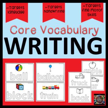 Core Vocabulary Handwriting