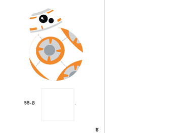 Core Vocabulary Interactive Book - Who/Can - Star Wars Themed