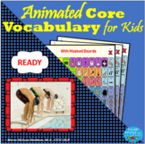 Core Vocabulary Photo Stories: READY   NO PREP