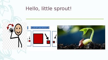 Core Vocabulary PowerPoint Story: Little