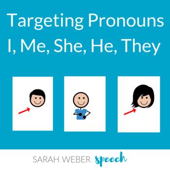 Core Vocabulary- Pronouns Bundle