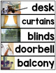 Core Vocabulary Word Wall ( Home Vocabulary - REAL pictures )
