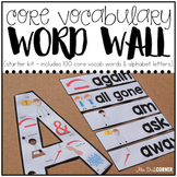 #BTSDollarDeals Core Vocabulary Word Wall ( Starter Kit )