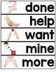 Core Vocabulary Word Wall ( Starter Kit )