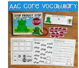 Core Vocabulary Words Growing Bundle
