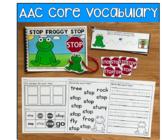 Core Vocabulary Words Growing Bundle