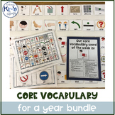 Core Vocabulary for a Year- Growing Bundle!