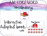 Core Word Adapted Book: HAVE