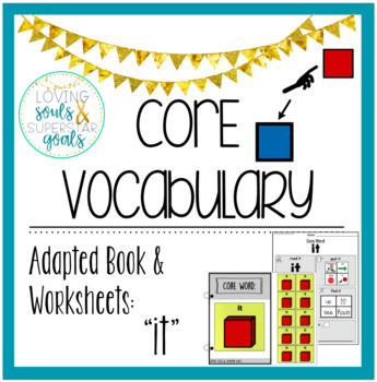 Core Word Adapted Book: It