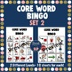 Core Word Bingo Bundle for AAC Users