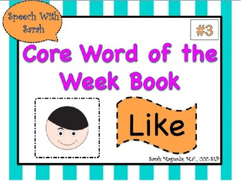 Core Word Book: Like