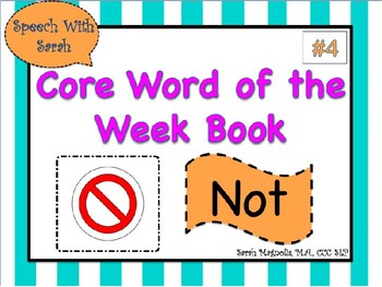 Core Word Book: Not