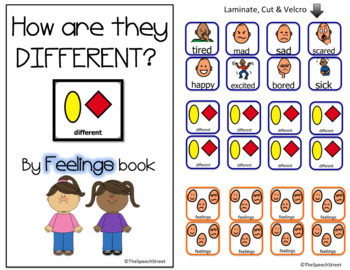 Core Word DIFFERENT by FEELINGS