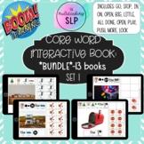 Core Word Interactive Books (SET 1)- *BUNDLE* | AAC | BOOM