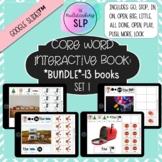 Core Word Interactive Books (SET 1) - *BUNDLE* | AAC | GOO