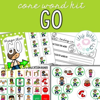 Core Word Kit - Go (BOOM™ deck included)