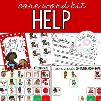 Core Word Kit - HELP